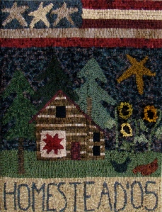Homestead Cabin Rug Hooking Retreat