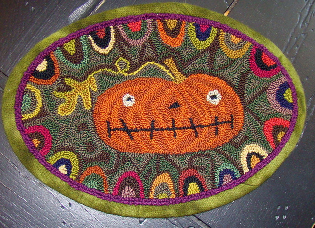 Prize pumpkin from Threads that Bind