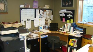 work area- pattern writing