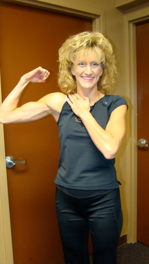 Sargent Brenda...oh how i lust to have arms like this...