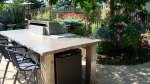 OUTDOOR GRILL AND CONCRETE COUNTER TOP FROM NATURAL ENCOUNTERS