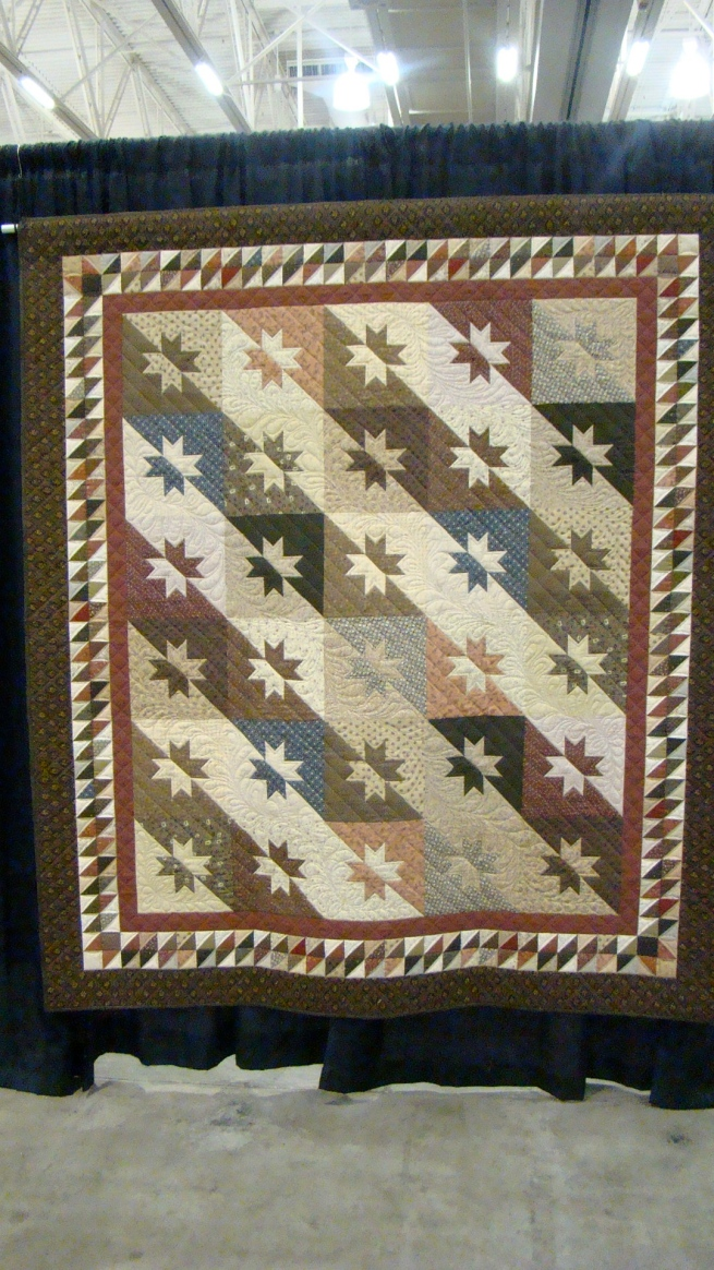 i have made this quilt...why didn't i think of this great border for mine?