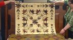???Batik quilt-a christmas present from Chuck