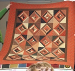 String Quilt....I think from 40 fabulous Quilts..could be wrong...made by Judy Potraz