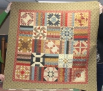 Civil War Sampler made by Debbie Sievert