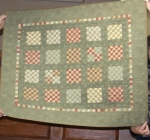 Baby Emma??? Country Sampler design, made by Joan Thor