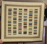 Scrap quilt by Debbie Diedrich