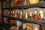 All my Eldreth Pottery Santas...1 for every year since 2000