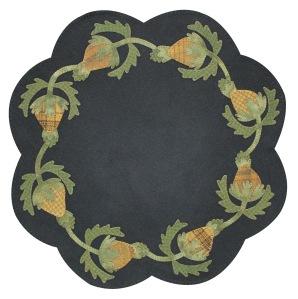 "Primitive Pineapples               22"" Finished Size designed by:                         Lisa bongean Primitive Gatherings Kit/Pattern $45 Pattern only $9"
