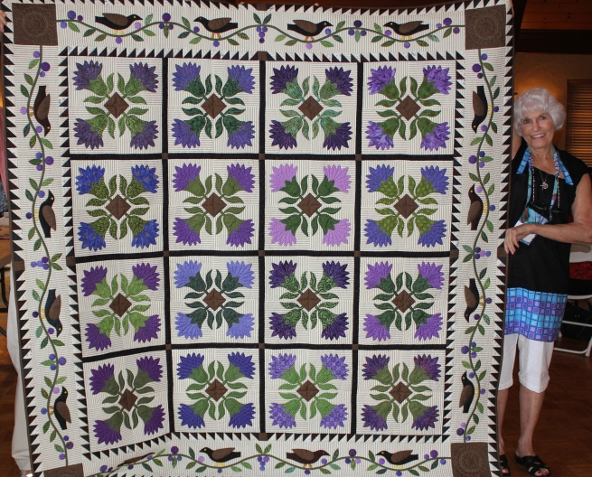 East Cobb Quilters- Jan C. Love this quilt!!
