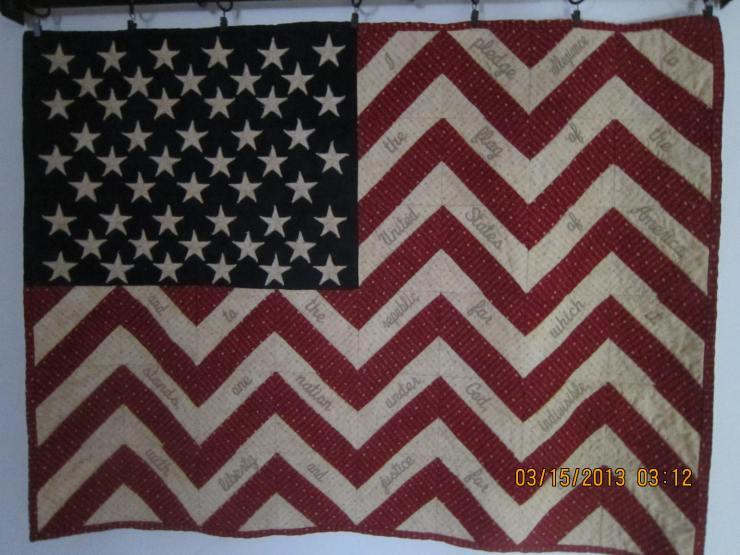 Mary Thomas.. Old Glory Fabrics