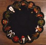 christmas time tablemat