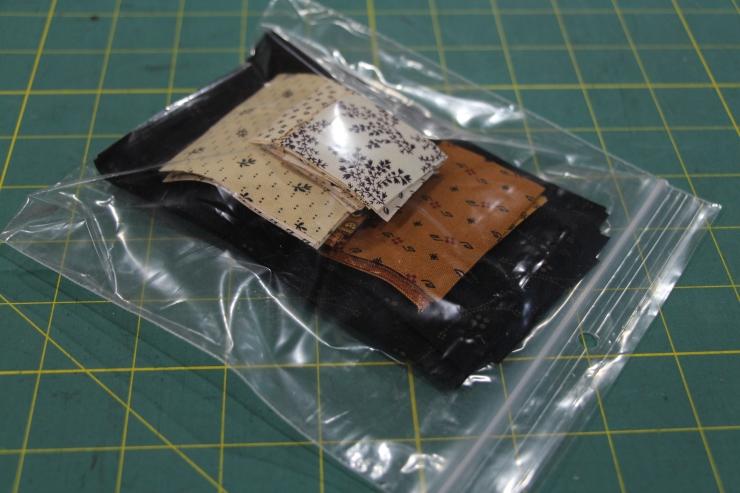 Package each block into a ziplock bag