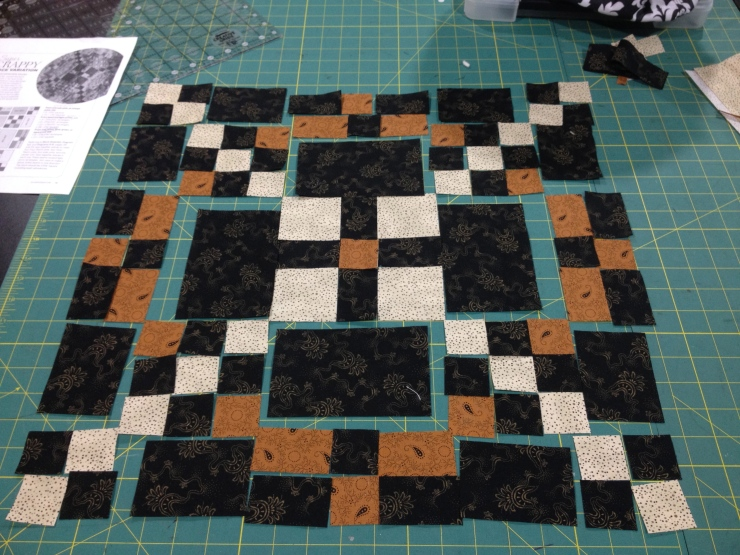 Test cutting one block before MASS cutting...
