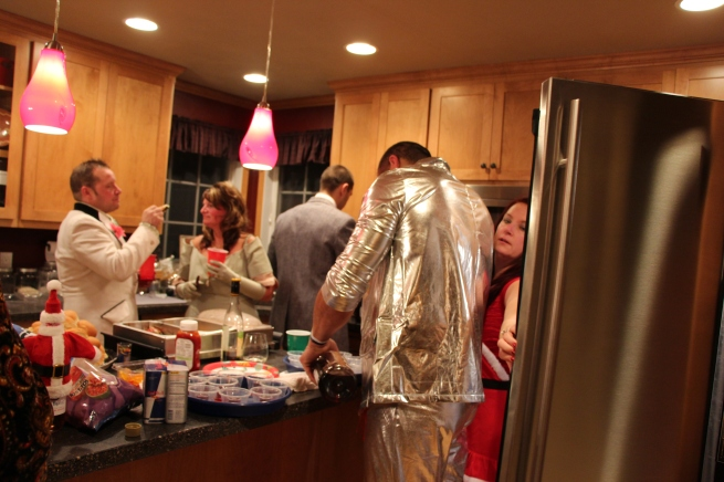 this is weird shot of my kitchen were I cooked lots of those hot appetizer that I never took a picture of...