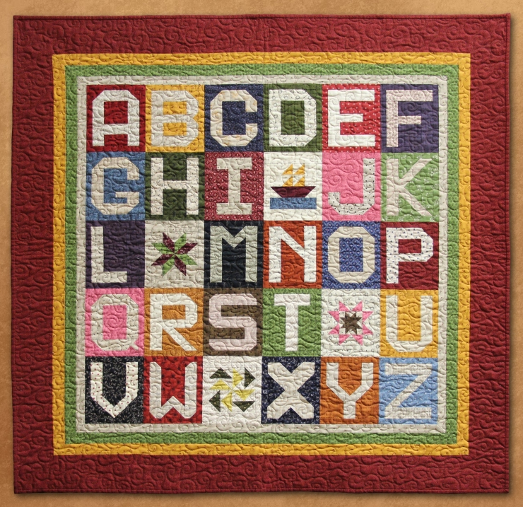 Mini Alphabet Quilt photo