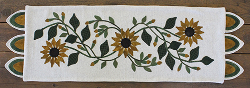 Wild Sunflower Runner/Lisa Bongean