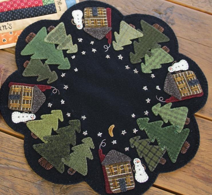 Winter Cabin   Kit $32