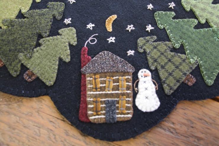 Winter Cabin/lisa bongean