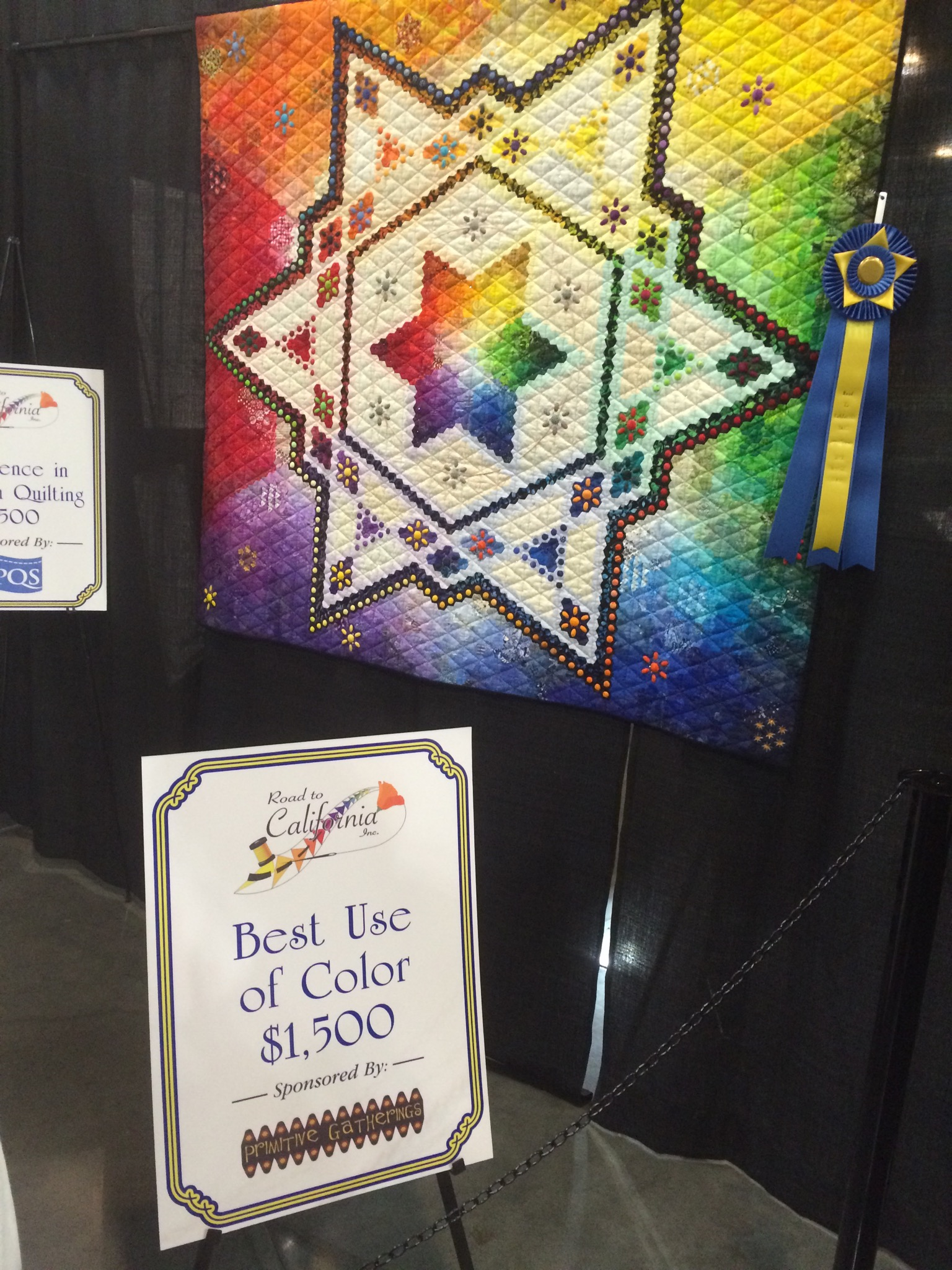 Road to California quilt show | Lisa Bongean's Weblog : california quilt shows - Adamdwight.com