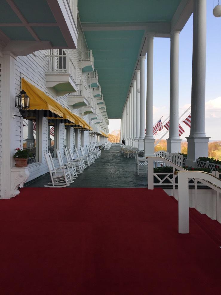 Day 4 At The Grand Hotel Mackinac Island MI