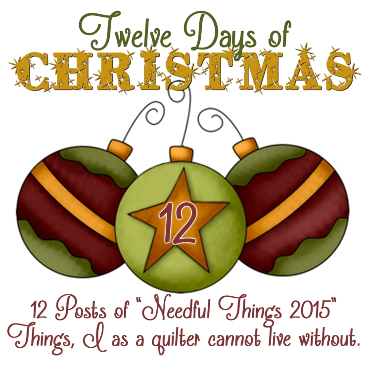 12 Days of Xmas Ornaments 12