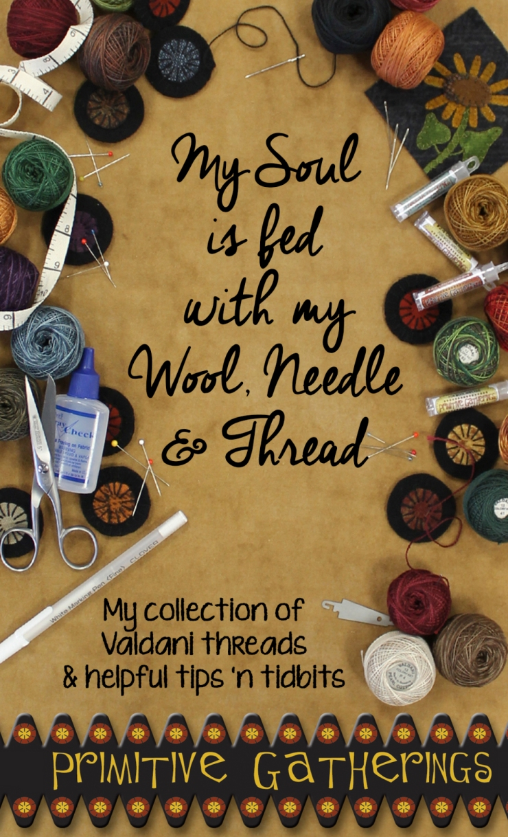 Wool Needle & Thread Cover only