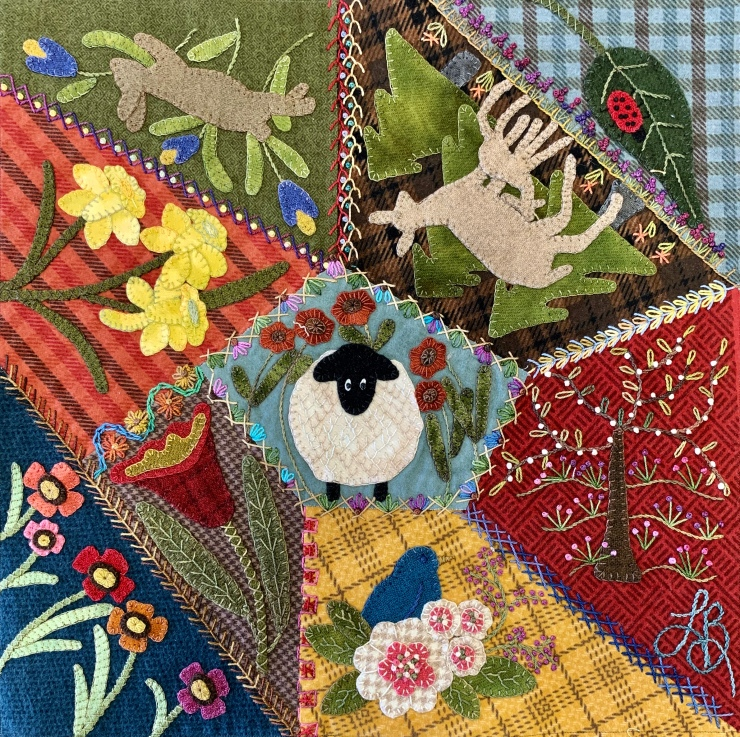 Lisa Bongean Spring Crazy block